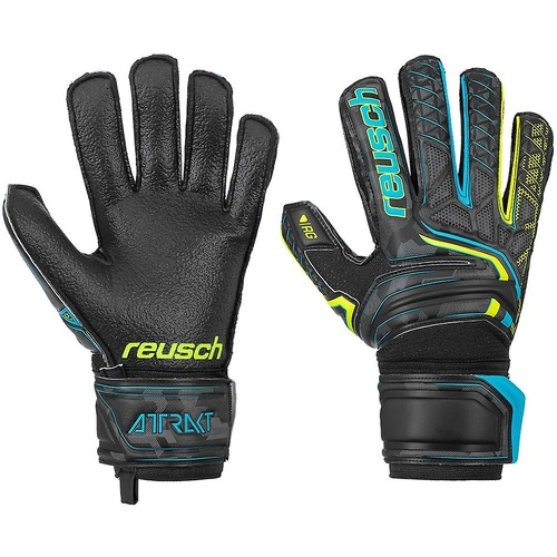 Reusch Attrakt RG Finger Support Goal Keeping Gloves [Size: 11]