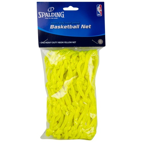 Spalding Basketball Net Neon Yellow