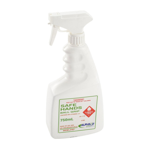 Sideline Grip Spray Safe Hands 750ml