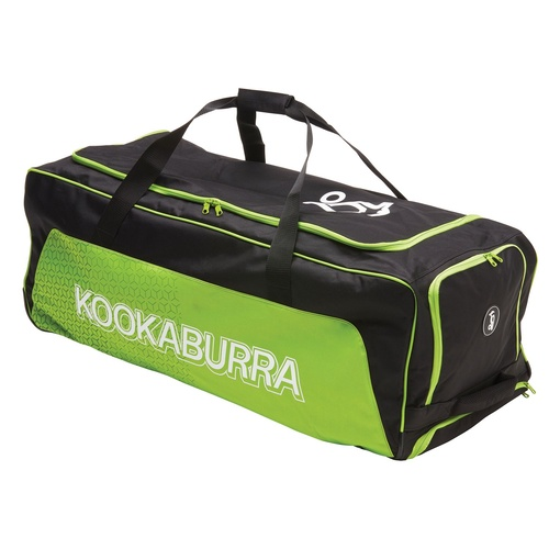 Kookaburra Pro 2.0 Wheelie Cricket Bag [Colour: Black/Lime]