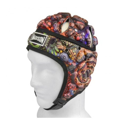 Madison Indigenous Headgear [Colour: Indigenous] [Size: Boys 50cm]